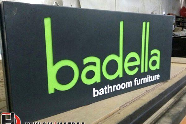 Badella Işıklı Fener Tabela